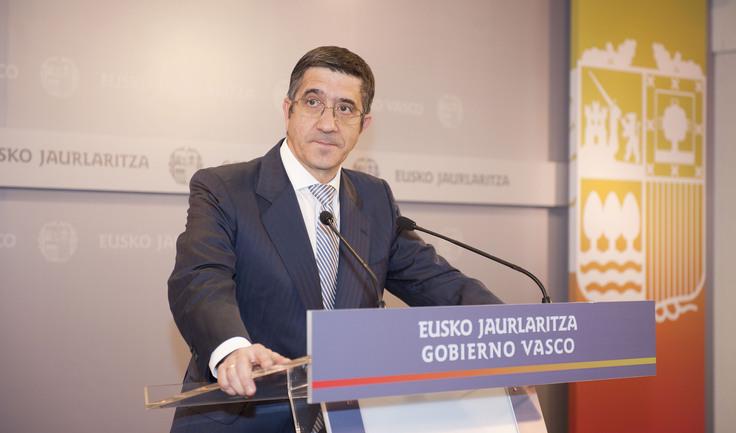 El Lehendakari, Patxi López, en una imagen de archivo.