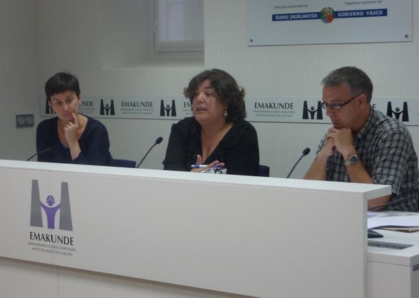 Arantxa Elizondo, María Silvestre y Marce Masa.