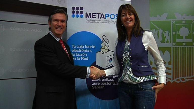 Eusko Jaurlaritzako 67.000 funtzionariok beraien nomina METAPOSTA bidez jaso ahalko dute