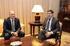 reunión del Lehendakari y el Rector de la UPV