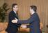 El Lehendakari recibe al presidente del PP, Antonio Basagoiti