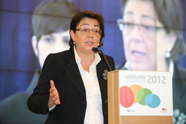 Pilar Unzalu, Presidenta de la Comisión Interdepartamental de EcoEuskadi2020