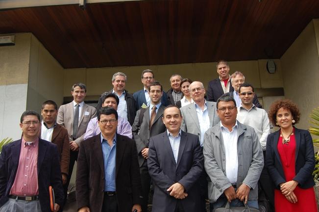 Miembros de la delegación que ha visitado Euskadi