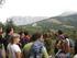 Técnicos en un bosque  de Euskadi (Unesco)