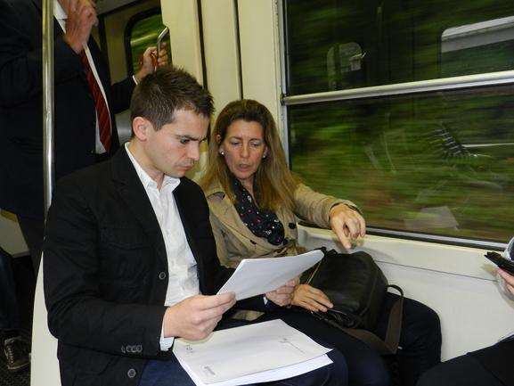 Oregi, en el trayecto ferroviario Ermua/Elgoibar
