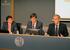 En el centro, Alexander Arriola, Director General de SPRI acompañado por el Presidente y Director General del cluster de Tecnología y de la información, Manuel Salaberria y Tomás Iriondo, respectívamente.