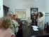 La Delegada Sara Pagola con representantes del centro vasco de Rauch