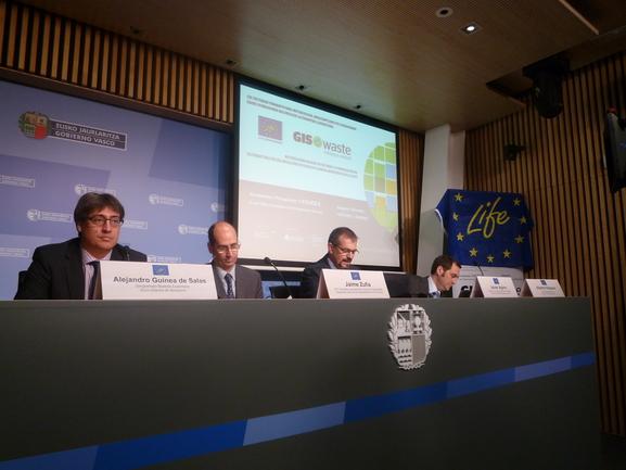 Presentación del proyecto europeo Life Giswaste