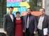 El presidente del Foro Europeo de la Juventud junto a la presidenta del Consejo de la Juventud vasca y al Director de Juventud del Gobierno Vasco, Jon redondo