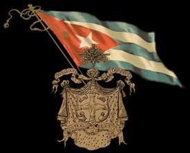 Emblema de la Asociación Vasco-Navarra de Beneficencia, entidad vasco-cubana.