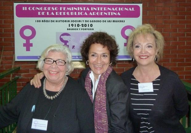 Marisa Navarro, Virginia Franganillo y Elvira Cortajarena