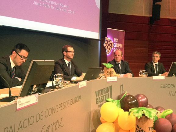 Josu Ezkurdia, Bittor Oroz, Borja Monje y Javier Maroto.
