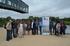 Oregi y el grupo de trabajo de Txingudi en Salburua