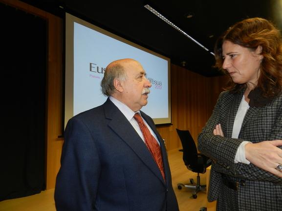 Iriarte, en el último congreso Euskal Hiria