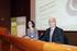La viceconsejera de Universidades e Investigación, Itziar Alkorta, junto con el director de Unibasq, Juan Andrés Legarreta, durante el Simposio celebrado el pasado año