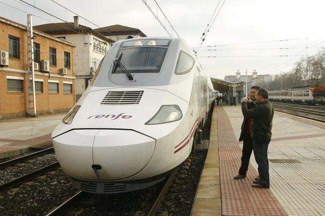 Alvia en Vitoria Gasteiz