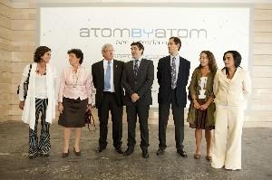 El Lehendakari, junto a los organizadores del Congreso