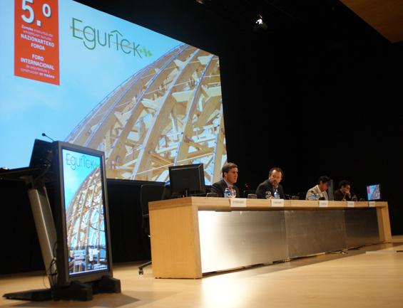 5º Foro Internacional de Arquitectura y Construcción en Madera EGURTEK