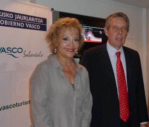Elvira Cortajarena y Rafael Estrella