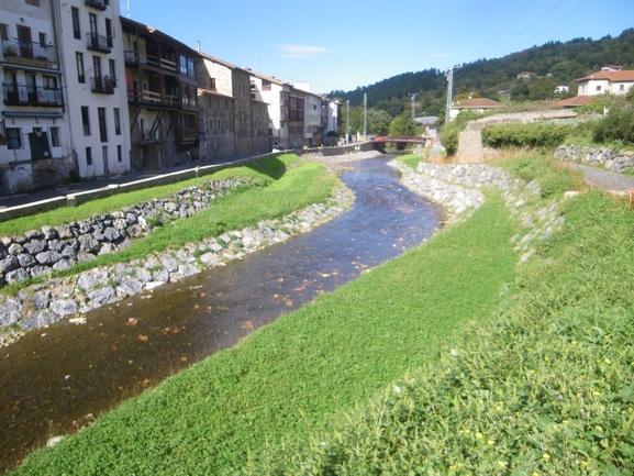 Situación actual del río Arratia en Areatza