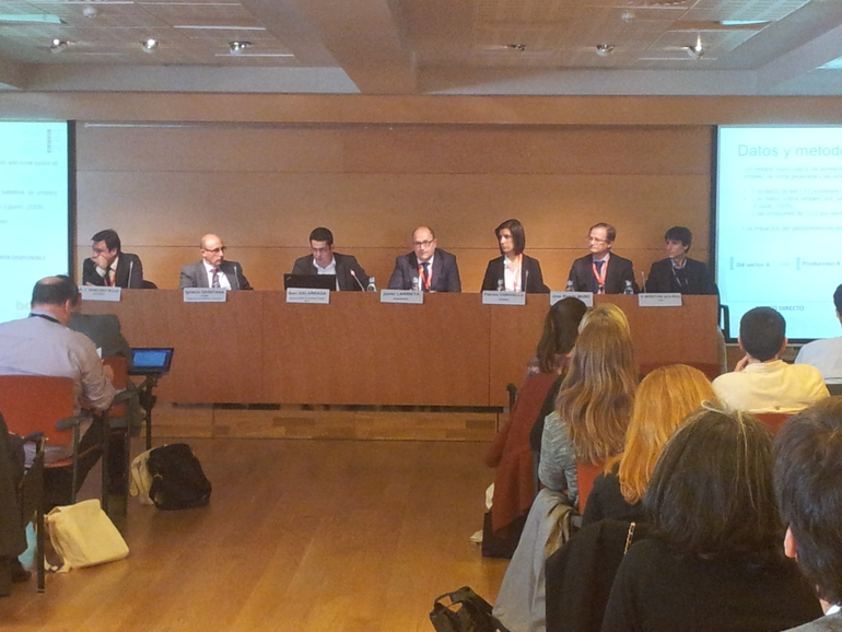 """Ponentes de la sesión sobre """"Nuevas metodologías integradas para el ecodiseño"""""""