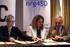Oregi, en la firma del acuerdo sobre computo de emisiones (Photo EFE)