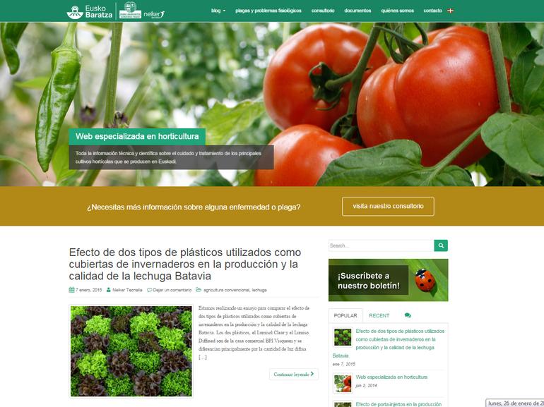 nueva plataforma web euskobaratza.com
