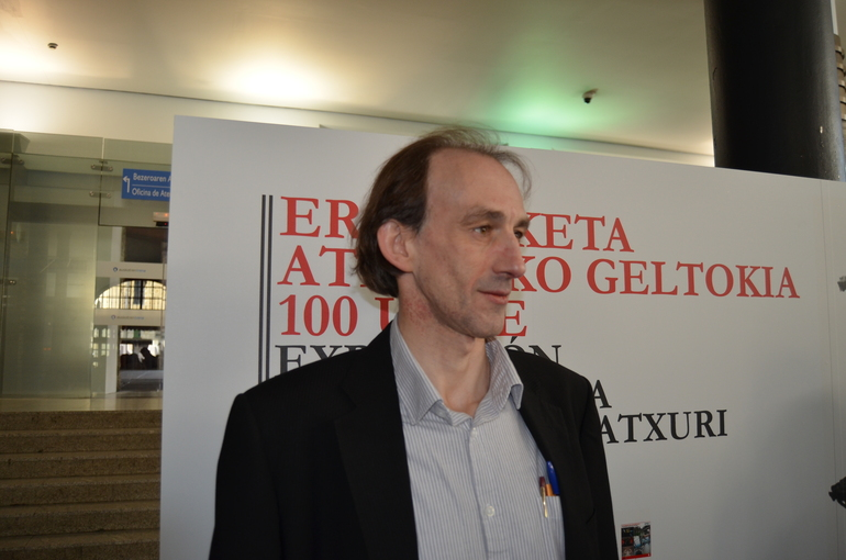 Imanol Leza, director de Euskotren