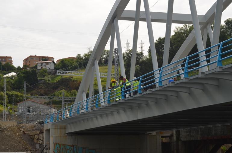 Rio Urumea proximidades de Loiola