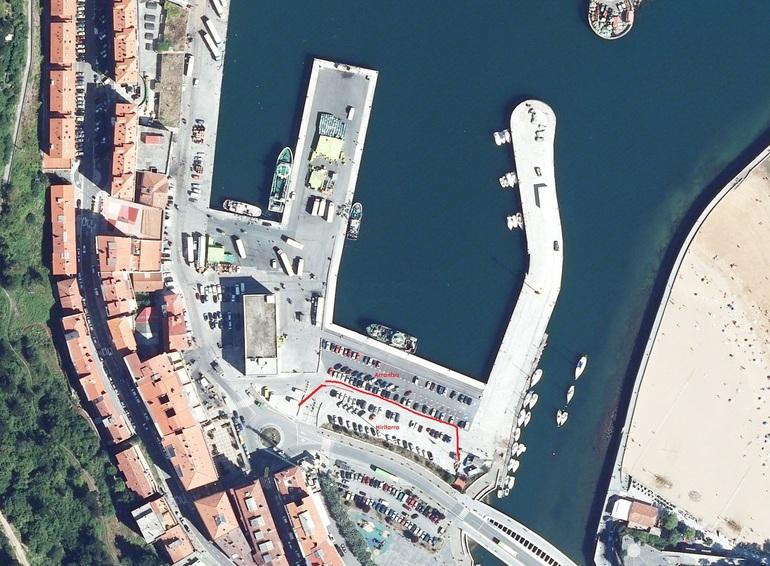 Ondarroa, paking puerto, (geoEuskadi)