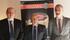 Bittor Oroz (Eusko Jaurlaritza) - Jose Mari Ustarroz, Idizabal-eko presidentea - Juan Pablo Rebolé- Nafarroako Gobernuko Landa Garapenerako Zuzendaria