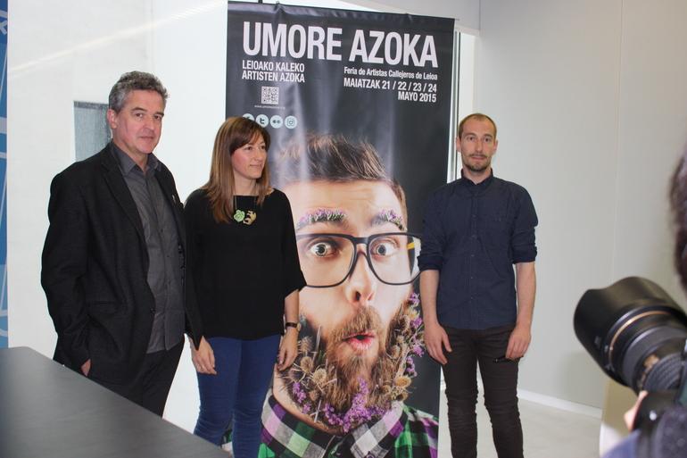 JOxean MUñoz, Ana Lopez eta Igor Calonge
