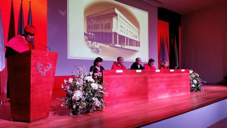 Josu Erkoreka participa en la ceremonia de entrega de diplomas a las y los Titulados de la Facultad de Derecho, sección Bizkaia, de la UPV-EHU