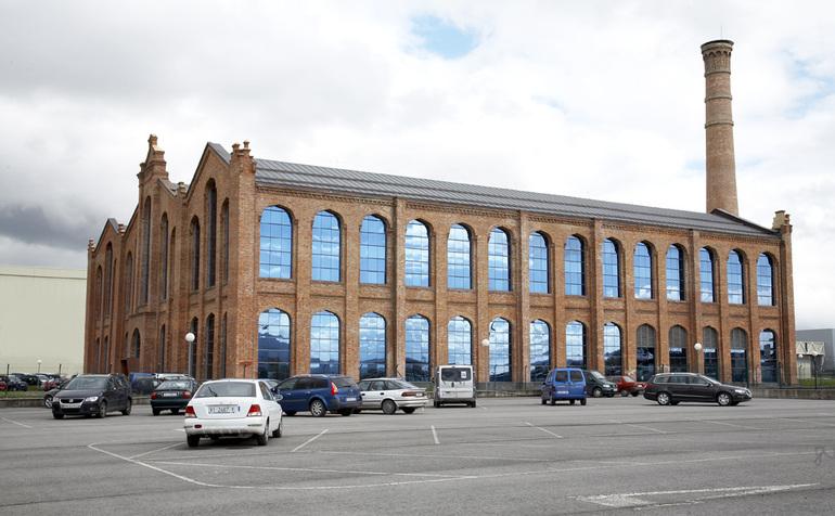 Vista del Edificio La Azucarera de Vitoria-Gasteiz
