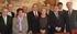 Los miembros del Consejo de Administración reunidos en la Cancillería de la embajada española