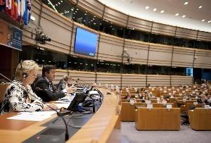 Lehendakaria, Europako Parlamentuan eman zuen hitzaldian
