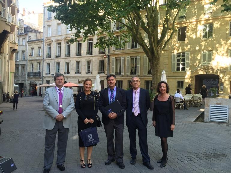 Delegación de Osalan en Burdeos