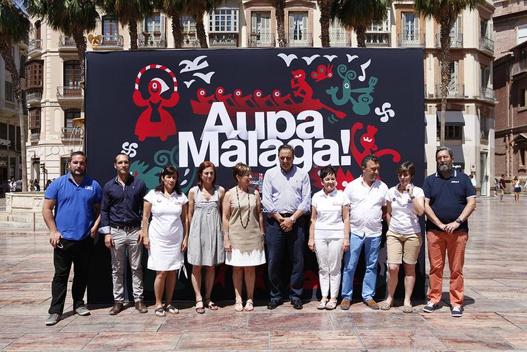 Ekonomiaren Garapena eta Kultura sailburuek Euskadiren turismo sustapen ekintzak inauguratu dituzte Málagan