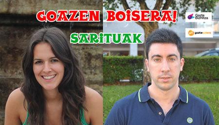 Dos jóvenes de Urnieta y Gatika viajarán de blogger al Festival de Boise