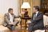 El Lehendakari y el Presidente de Vodafone, en un momento de su entrevista