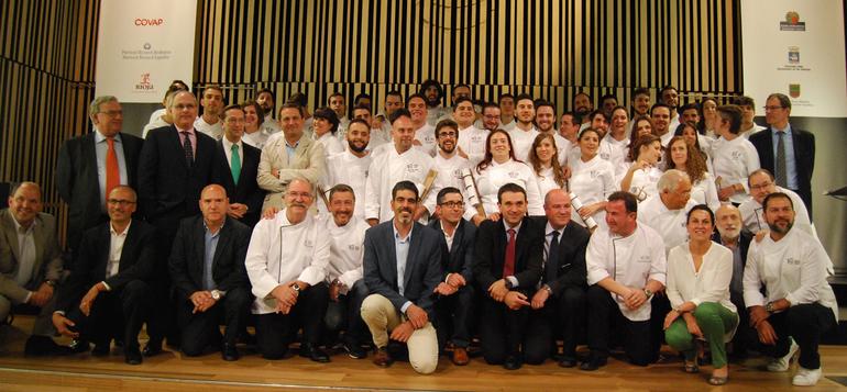 Primera promoción de graduados del Basque Culinary Center