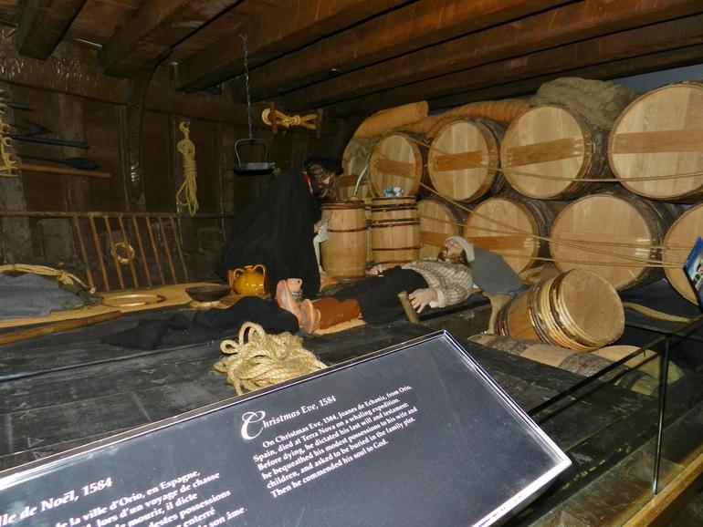 Ottawa, Museo Civilizaciones: recreación de la presencia vasca en Labrador y Newfoundland