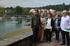 Oregi en su visita a los puertos de Armintza y Plentzia
