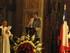 El Presidente del Euzko Etxea Jose Maria Narvarte, diciendo unas palabras en la catedral