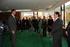 Su Alteza Real el Príncipe de Asturias, Felipe de Borbón, saludando a los asistentes a la Audiencia