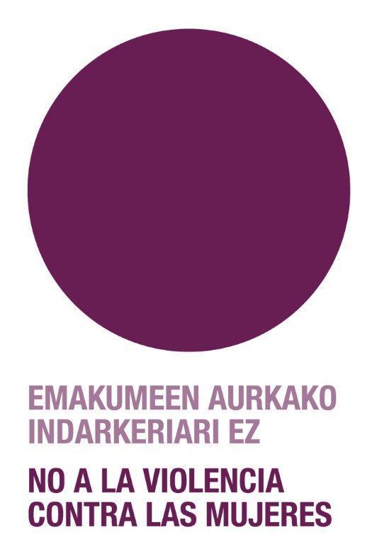 Emakunde recuerda que hay más casos de violencia hacia las mujeres además de los que se denuncian