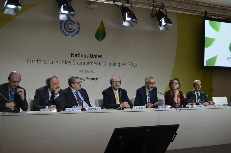 Oregi, esta tarde en COP 21, Paris
