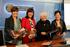 De izquierda a derecha: •Arantza Madariaga, directora de Basquetour •Itziar Epalza, viceconsejera de Comercio y Turismo •Toti Martinez de Lezea, escritora •Mertxe Garmendia, directora de Turismo