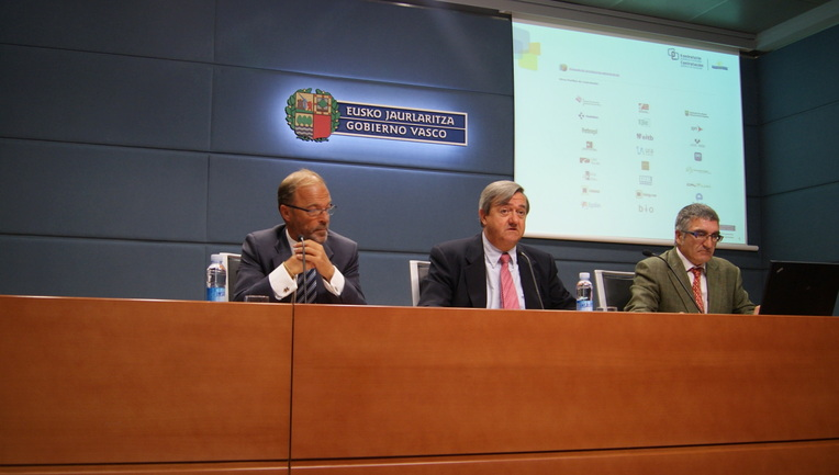 Ignacio Alday, Carlos Aguirre,  Ángel Cancelo