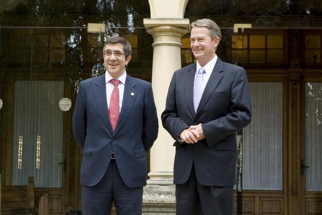 El lehendakari y el vicegobernador de Idaho, Brad Little